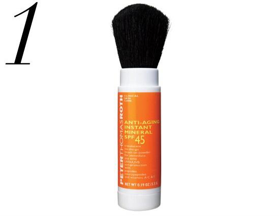 Sunscreen in a Brush