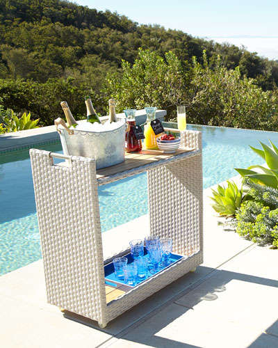 Poolside Rolling Bar Cart_051517