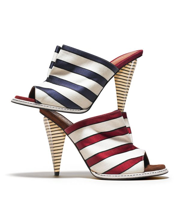 Red White and Blue Mules