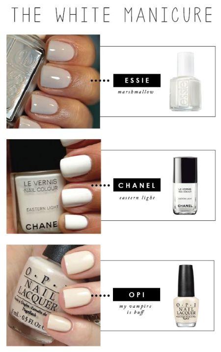 White Haute Manicure
