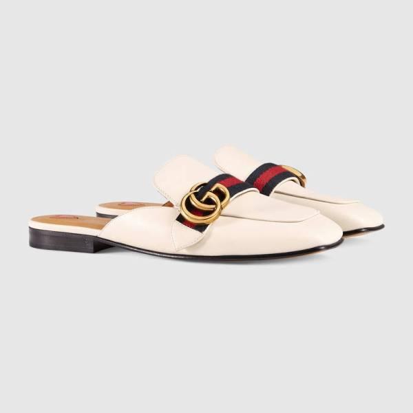 Gucci White Slipper